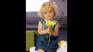 Вязание крючком. Платье для девочки
