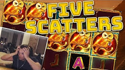 Golden Owl of Athena - 5 SCATTERS!