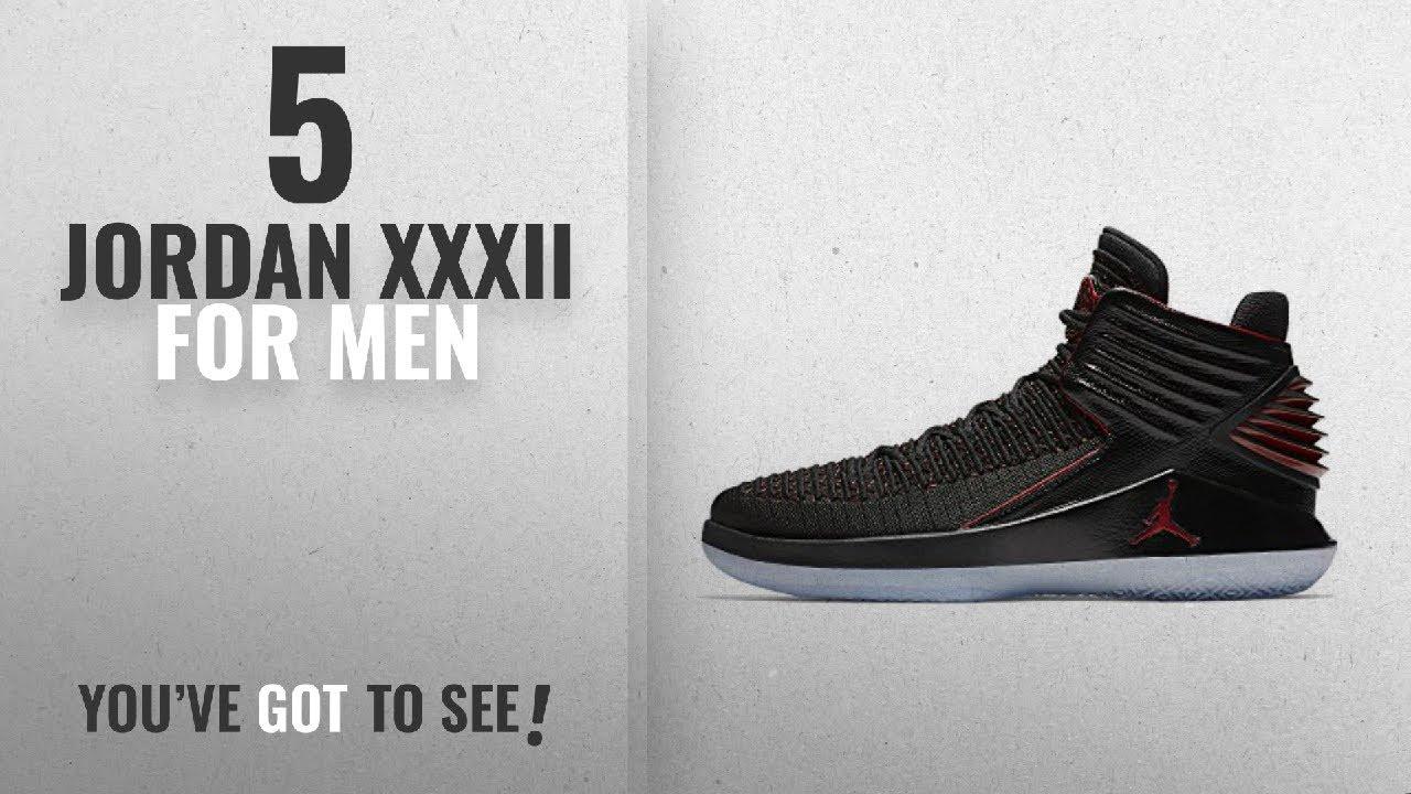14f15dd233ea Top 10 Jordan Xxxii  2018    Jordan Air XXXII Bred basketball shoes ...
