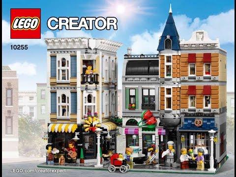 Lego Creator 10255 Assembly Square Creator Modular Instructions DIY Book