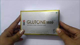 Hindi Review of Glutone 1000 Skin Lightening Tablets : ClickOnCare