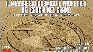 Pier Giorgio Caria - IL MESSAGGIO COSMICO E PROFETICO DEI CERCHI NEL GRANO - PIEVE TORINA