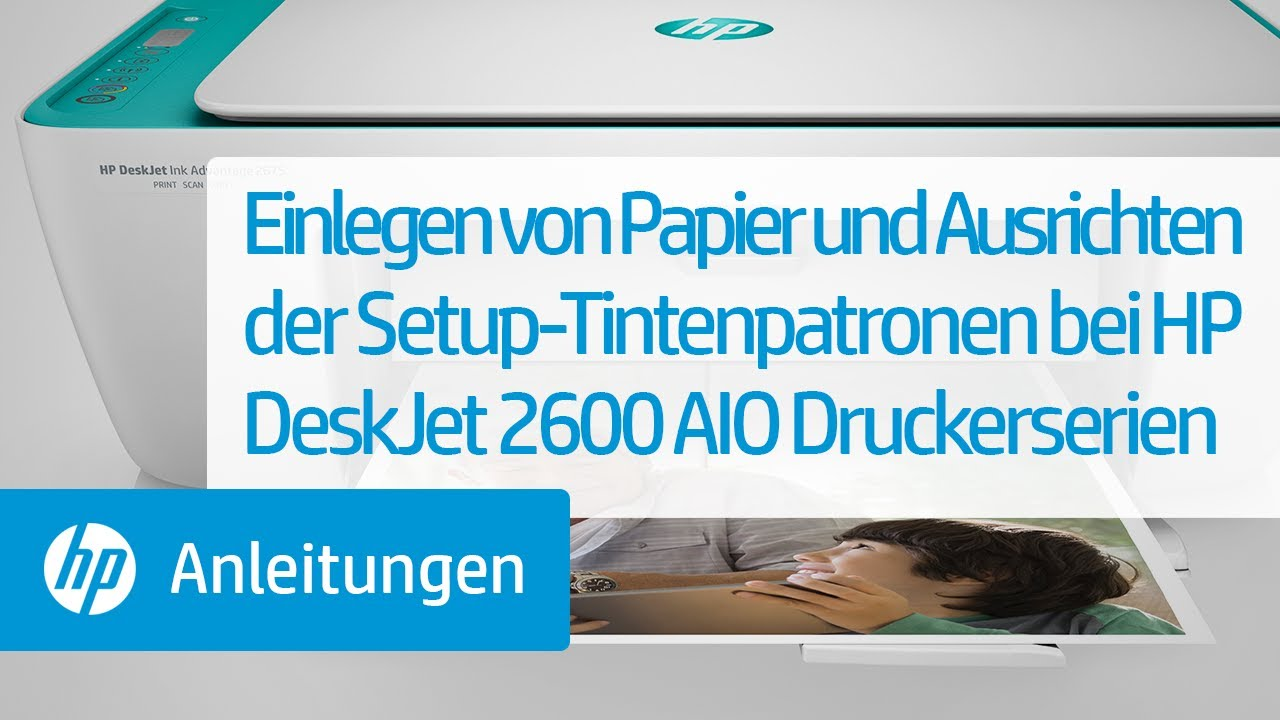 HP DeskJet 10 All-in-One-Drucker Einrichtung  HP® Support