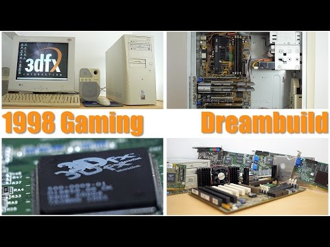 1998 Gaming Dreambuild! Pentium II 450, 3DFX Voodoo 2 sli