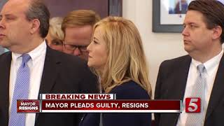 Megan Barry Pleads Guilty To Theft Charges