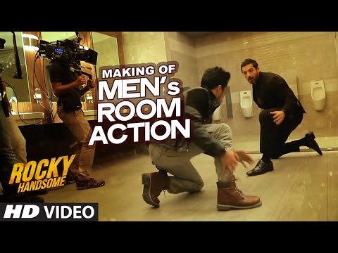 MAKING OF MEN's ROOM ACTION | Rocky...