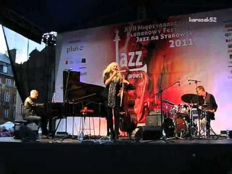 Caecilie Norby Quartet live - XVII Festiwal Jazz na Starówce 2011 (2/3)
