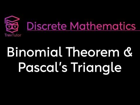 [Discrete Math 1] Binomial Theorem and Pascal