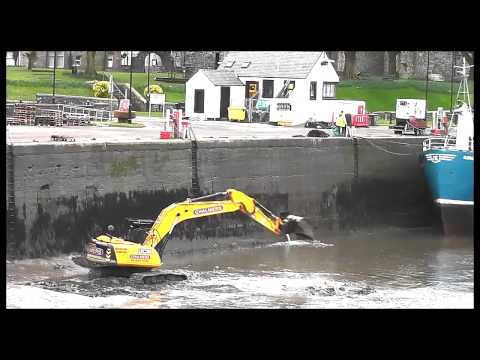 Kirkcudbright Harbour Silt Clean