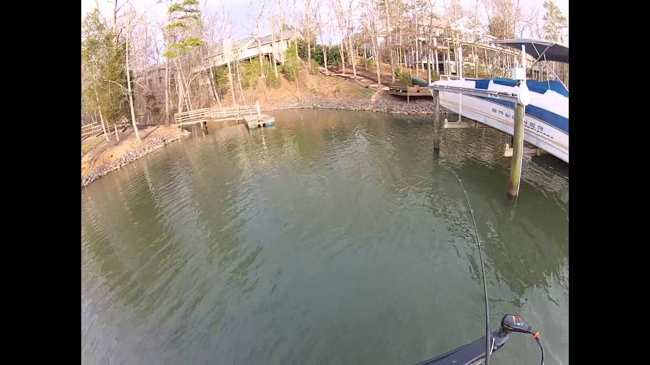 bass fishing with gopro on lake wylie sc youtube. Black Bedroom Furniture Sets. Home Design Ideas