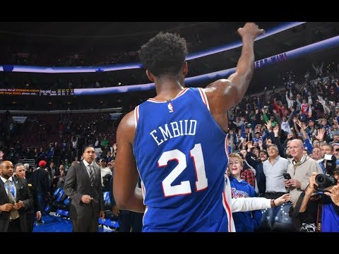 Joel Embiid is Mic'd Up and Chants
