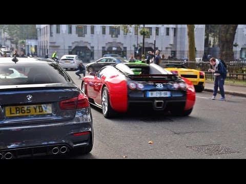 SUPERCAR TAKEOVER IN MAYFAIR!