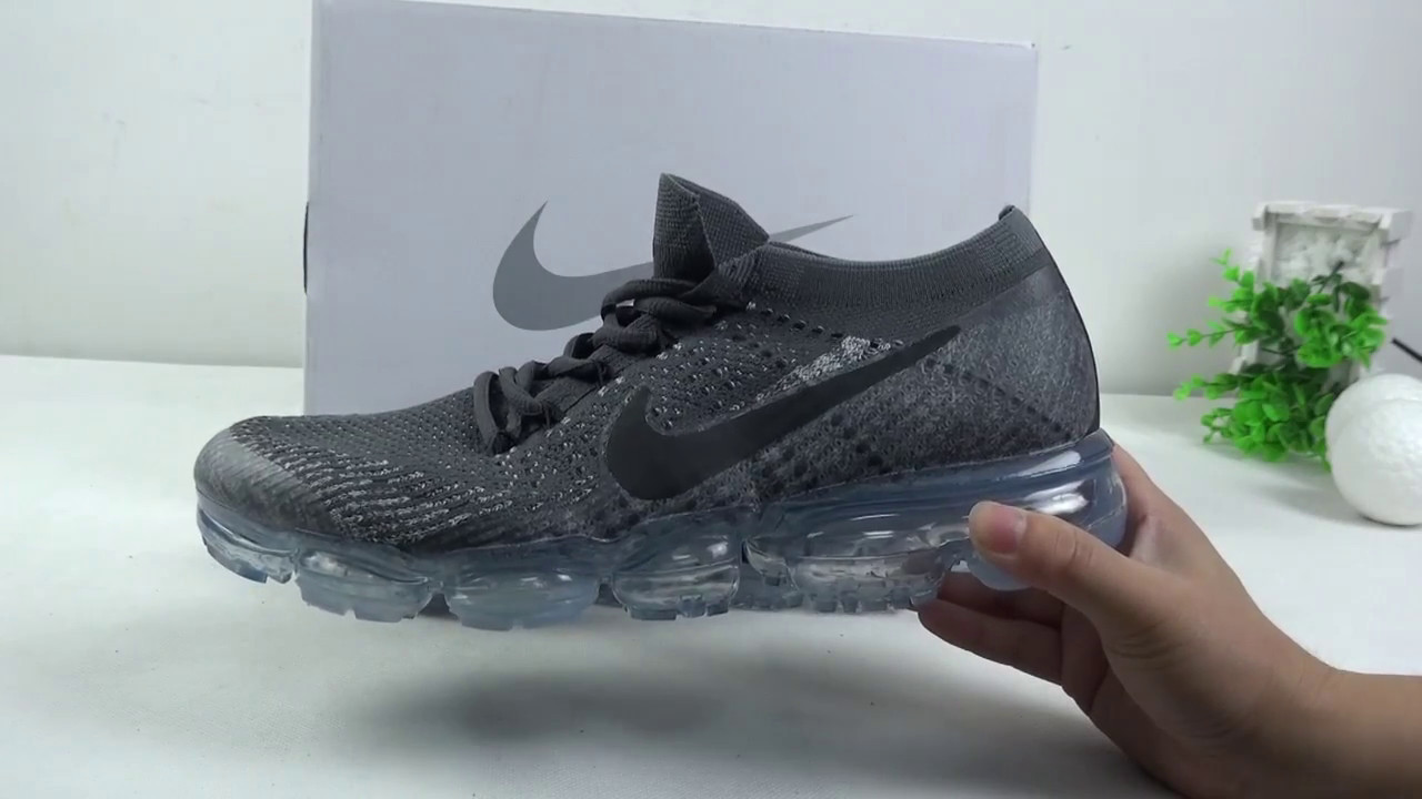 Nike Vapormax Black Grey