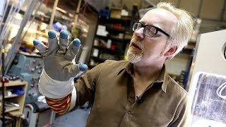 Inside Adam Savage's Cave: Space Glove Vacuum Chamber