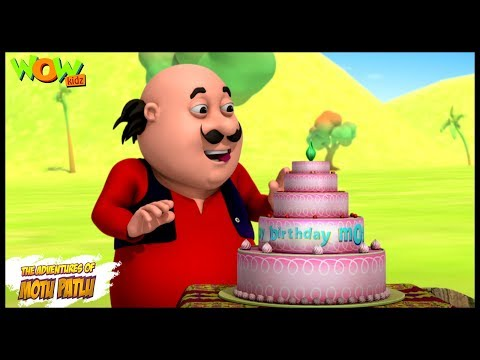 Motu ka Birthday | Motu Patlu in Hindi WITH ENGLISH, SPANISH & FRENCH SUBTITLES | As seen on Nick thumbnail