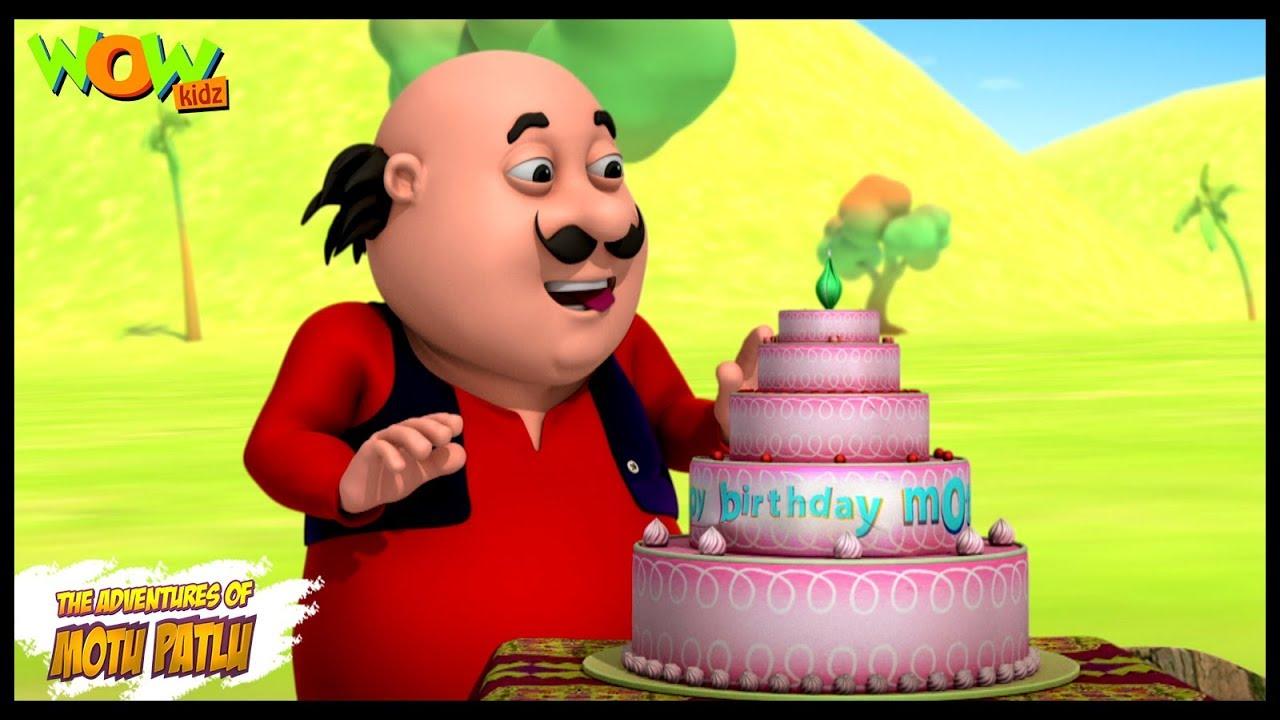 Motu Ka Birthday Motu Patlu In Hindi With English Spanish