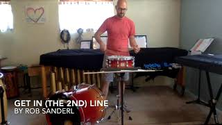 Get in the 2nd Line  by Rob Sanderl