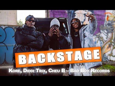 Youtube: KORE, DIDDI TRIX, CHEU-B – BAD BOY RECORD (LES BACKSTAGES) #CRCLR