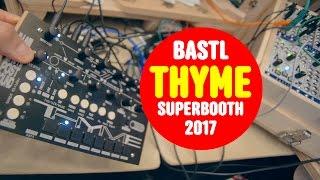 Bastl Thyme Superbooth 2017