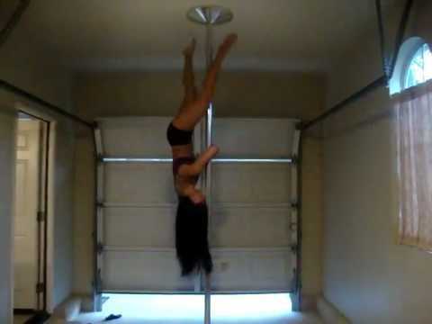 Pole Dance Demo to Tik Tok