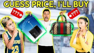 Download If You GUESS THE PRICE, I'll BUY IT FOR YOU! *CHALLENGE* | The Royalty Family Mp3 and Videos