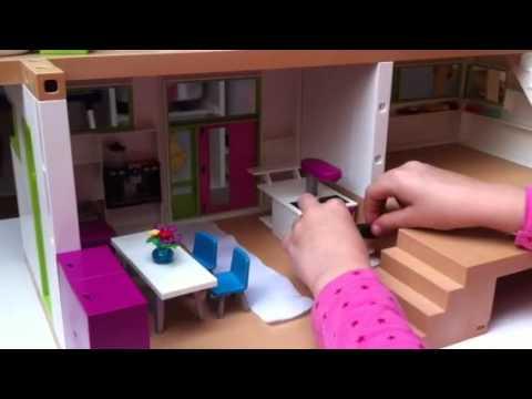 Playmobil luxusvilla einrichten youtube for Playmobil haus schlafzimmer