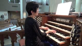 Handel, Largo from Xerxes, Pipe Organ ヘンデルのラルゴ パイプオルガン