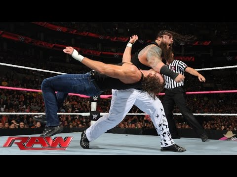 Roman Reigns, Dean Ambrose & Randy Orton vs. The Wyatt Family: Raw, Oct. 5, 2015