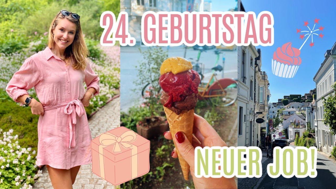 NEUER JOB & MEIN 24. GEBURTSTAG | Vlog