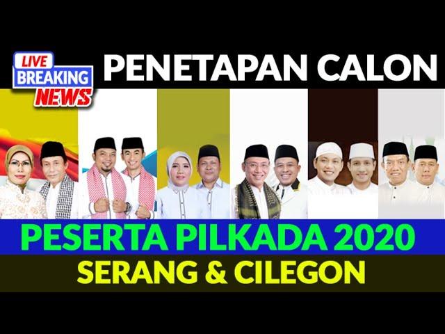 LIVE STREAMING PENGUNDIAN NOMOR URUT PILKADA SERANG & CILEGON 2020