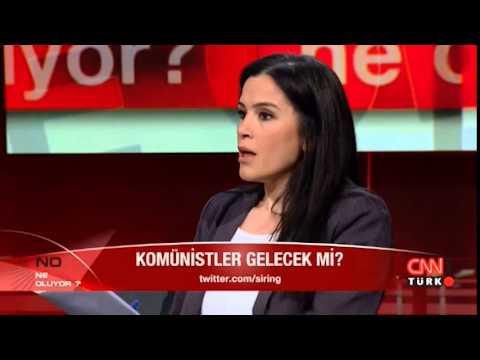 Komünist Parti MK üyesi Hande Gündoğdu CNN Türk'teydi