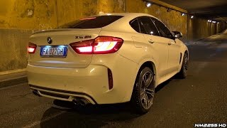 BMW X6M F86 LOUD Sounds by Night! - Tunnel Runs, Accelerations & More!