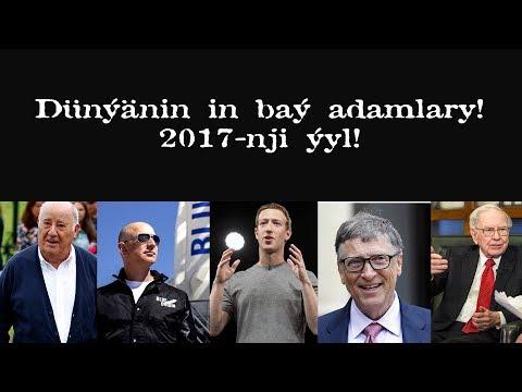 Dunyanin in bay adamlary TOP 5