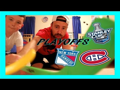 NHL PLAYOFFS - RANGERS / CANADIENS - BEST OF 3 - QUINNBOYSTV