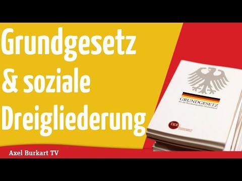 Axel Burkart TV - Grundgesetz und soziale Dreigliederung!