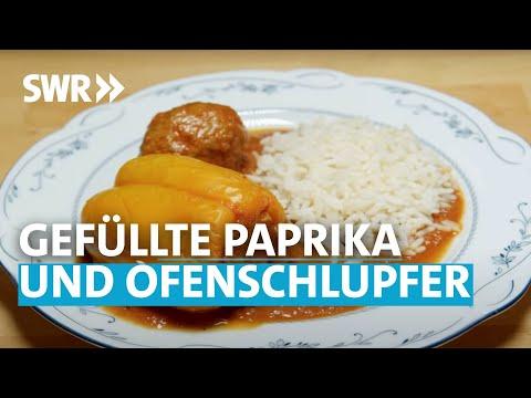 Oma kocht am besten: Gefüllte Paprika und Ofenschlupfer