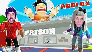 Roblox: FROM THE END! DO NINA + KAAN PASS THE GUARDS? Prison Break Obby Escape