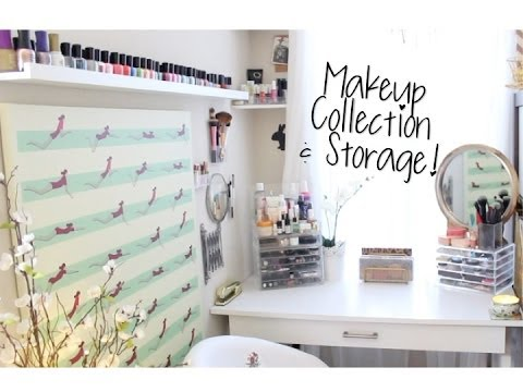 ♡ My Makeup Collection & Storage ♡ Cruelty-free / Natural