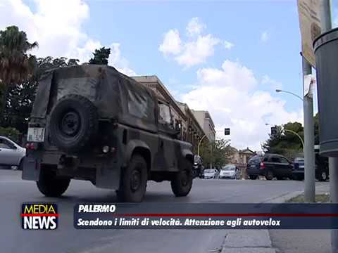 Nuovi limiti di velocità a Palermo: in via Libertà a 40 km orari, autovelox mobili in centro