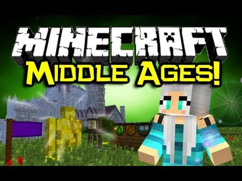 Minecraft MIDDLE AGES MOD Spotlight! - Pimp Yo