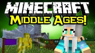 Minecraft: MIDDLE AGES MOD Spotlight! - Pimp Yo