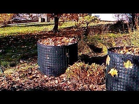 видео: Компостная куча / вертикальная грядка из сетки и спанбонда