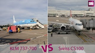 Innovation in Aviation: Testing the Boeing 737-700 and Bombardier CS100