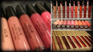 *NEW* Stila Stay All Day Liquid Lipsticks! Lip Swatches/Arm Swatches/Review (FULL COLLECTION)