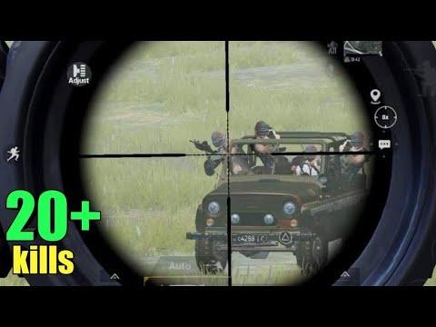 SNIPER VS 4 Enemies!! | Best Rush Game! | PUBG MOBILE thumbnail