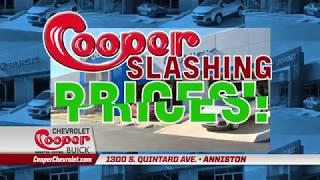 Huge Summer Sale at Cooper Chevrolet Buick in Anniston, AL