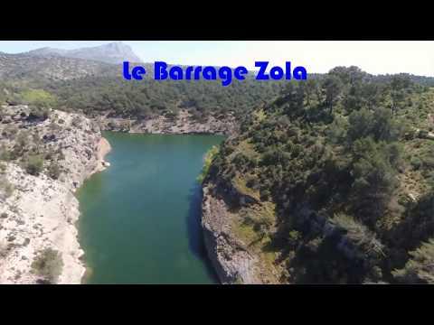 DRONE BARRAGE ZOLA AIX EN PROVENCE