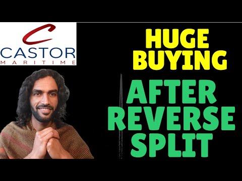 Castor Maritime (CTRM) HUGE BUYING AFTER Reverse Split -? ⚠!! ! - Stock Analysis + Price Target