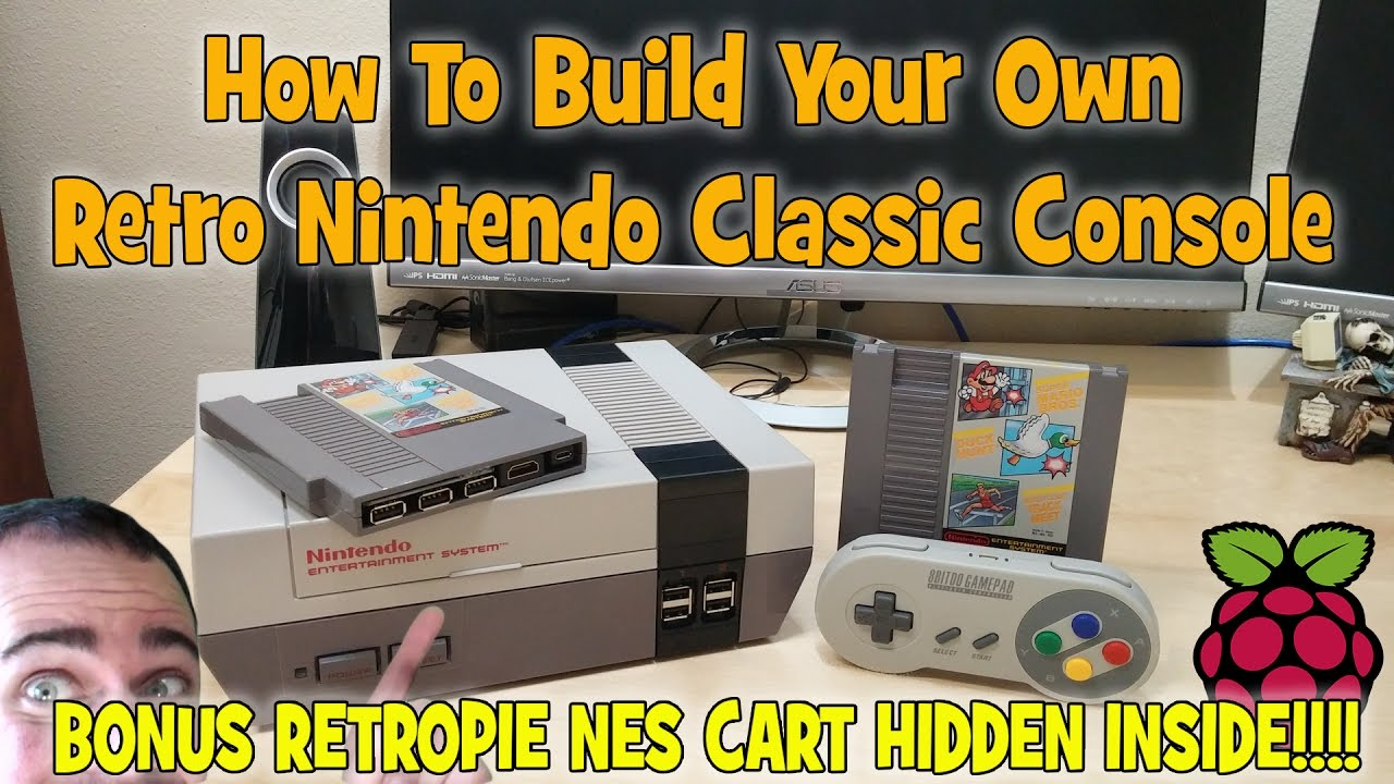 How To Build Your Own Retro Nintendo Classic Console Youtube Usb On Off Power Switch Circuit By Mausberry Circuits