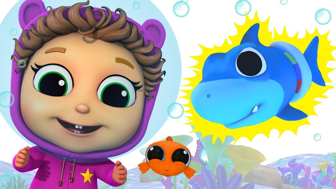 Baby Shark Learn Colors   Compilation   Baby Joy Joy on ...